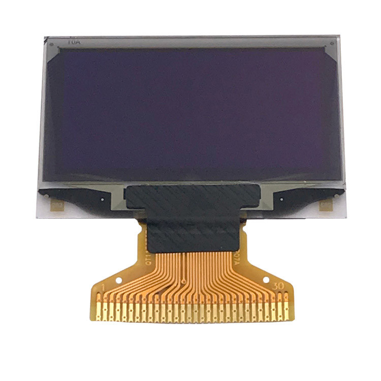 1 . 3 Inch 128 * 64  SPI I2C Interfaces OLED Wearable LCD Display With Controller SSD1306