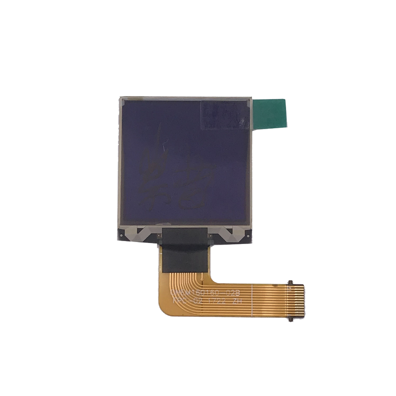 Wide Viewing 1.3 Inch White PMOLED Display Active Area 23 . 34 X 23 . 34 Mm