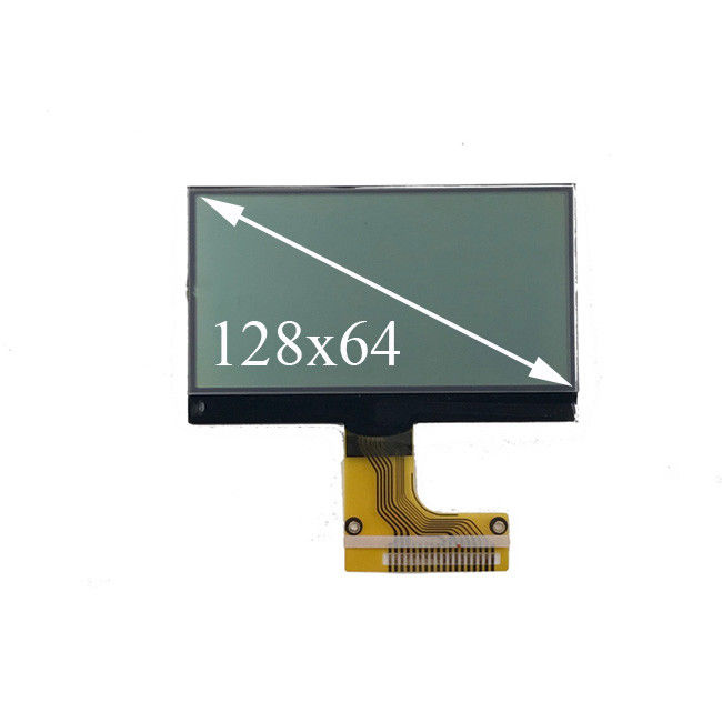 High Brightness 12864 LCD Segment Display Module COG LCD FSTN Serial