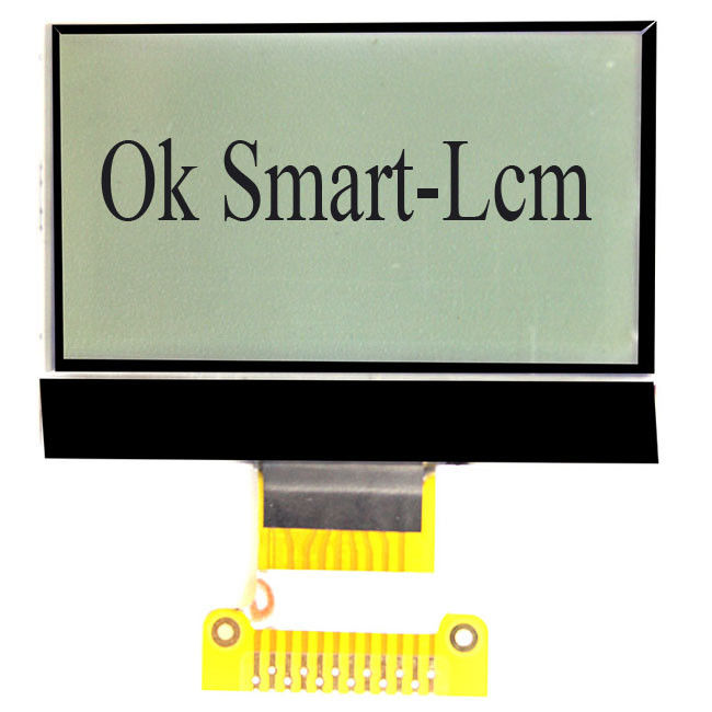 Transmissive Monochrome LCD Display 12864 Dot Matrix FPC Line