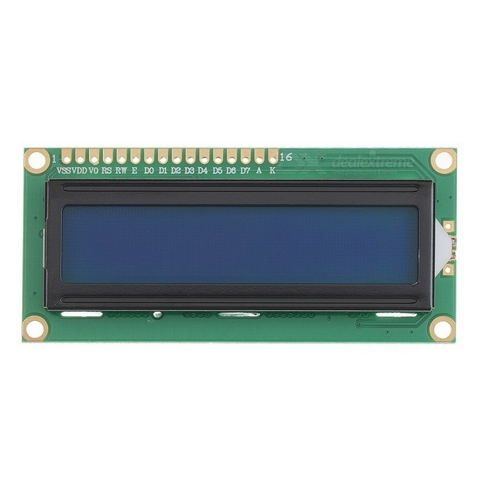 Blue Color 16 x 2 Character LCD Module 3.3v TN / STN Mode Parallel Interface